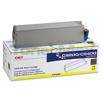 OKIDATA C9000 TYPE C3 TONER YELLOW